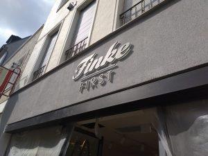 Lichtwerbung Finke First 2